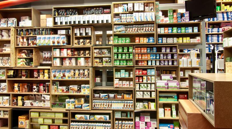Farmacia magatzem monill | Premis FAD 2011 | Interiorisme