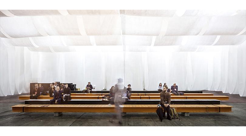 Espacios comunes barcelona building construmat | Premis FAD 2020 | Intervenciones Efímeras