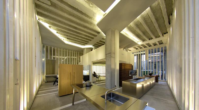 Acondicionamiento de local comercial para nueva sede de muebles bulthaup   Premis FAD 2009   Interior design