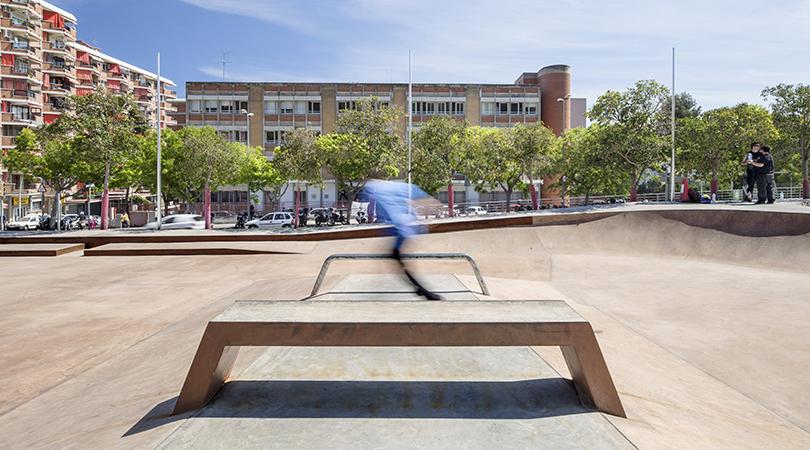 Landskate parks. xarxa de parcs esportius urbans de barcelona | Premis FAD 2016 | Ciudad y Paisaje