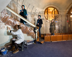 Túnel transparent. Explorar la Restauració | Premis FAD  | Intervenciones Efímeras
