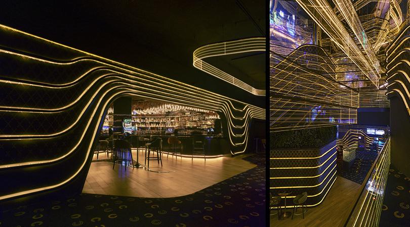 Interiorismo de hotel 5*, restaurantes y centro de ocio en badajoz | Premis FAD 2020 | Interiorismo