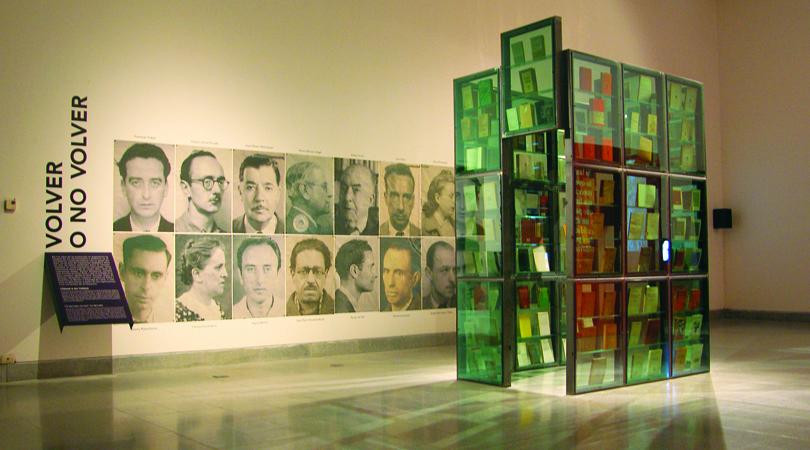 Literatures de l'exili. retorn a catalunya   Premis FAD 2010   Intervenciones Efímeras