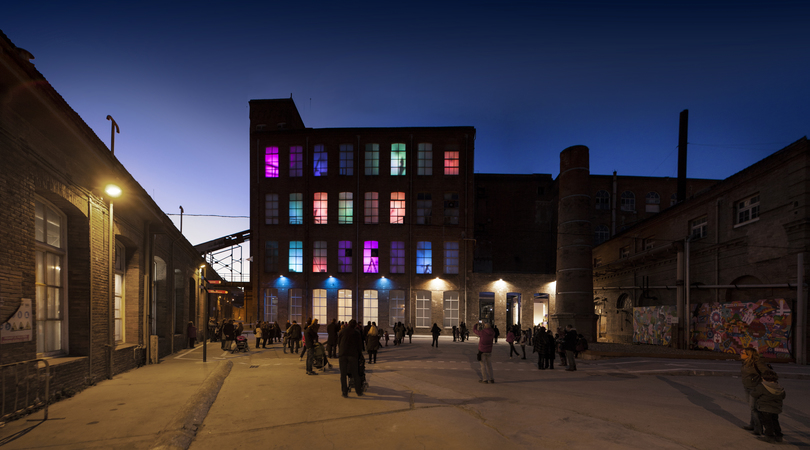 Factoria i magatzem dels reis mags a fabra i coats   Premis FAD 2013   Intervencions Efímeres