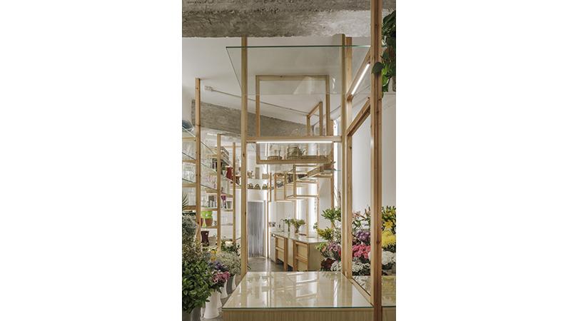 Orquideas y escaleras   Premis FAD 2018   Interiorismo