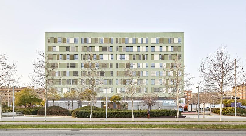 79 Habitatges amb Protecció al Saló Central de Sant Boi de Llobregat | Premis FAD 2020 | Arquitectura