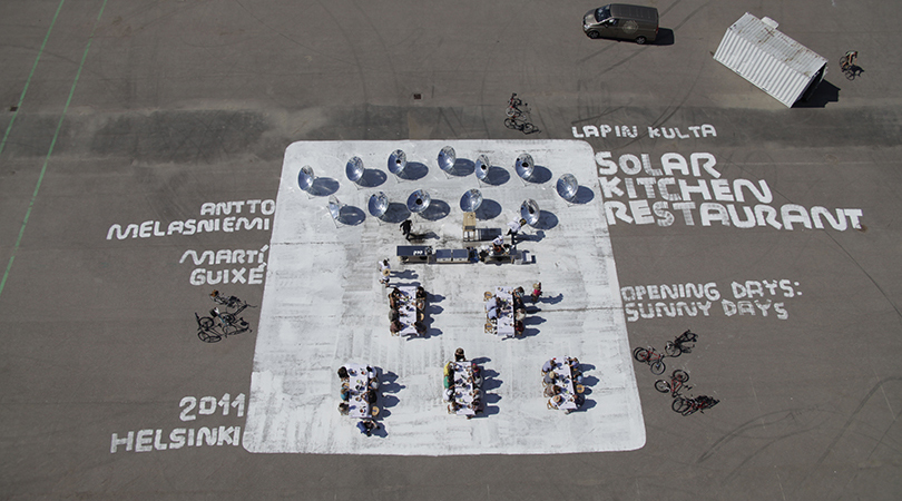 Solar kitchen restaurant   Premis FAD 2014   Intervenciones Efímeras