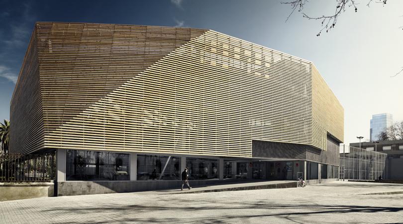 Poliesportiu de la ciutadella   Premis FAD 2010   Arquitectura