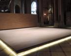 Intervenció a l'interior de l'Església de Santa Madrona | Premis FAD 2015 | Interiorisme