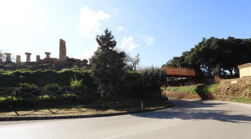 Passera de la vall dels temples d'agrigento. sicilia | Premis FAD 2016 | Ciudad y Paisaje