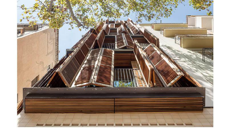 Edifici d'habitatges per a quatre amics   Premis FAD 2020   Arquitectura
