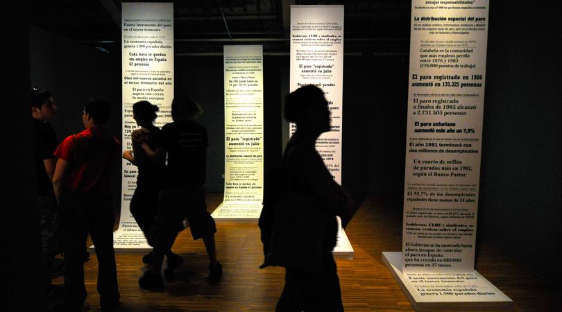 Exposicio quinquis dels '80 al cccb | Premis FAD 2010 | Intervenciones Efímeras
