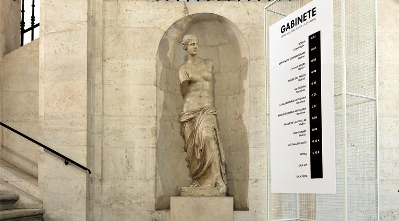 Gabinete, feria del dibujo y de la estampa | Premis FAD 2018 | Intervenciones Efímeras