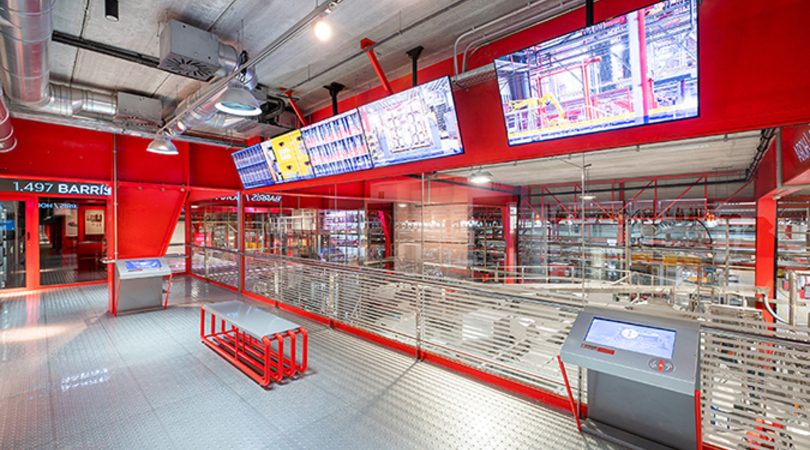 Mega. mundo estrella galicia. museo de la cerveza   Premis FAD 2020   Arquitectura