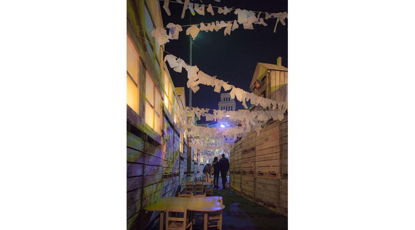 La ciutat de les 800.000 ingravidolles | Premis FAD 2018 | Intervenciones Efímeras