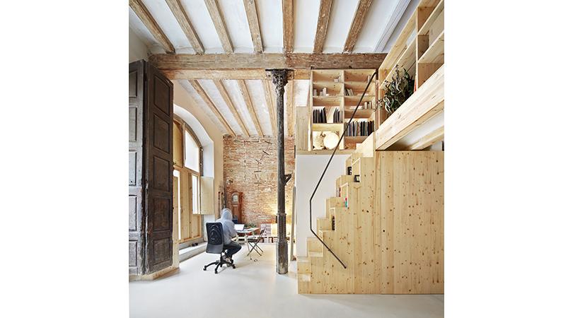 Reforma d'habitatge al poble-sec | Premis FAD 2015 | Interiorismo