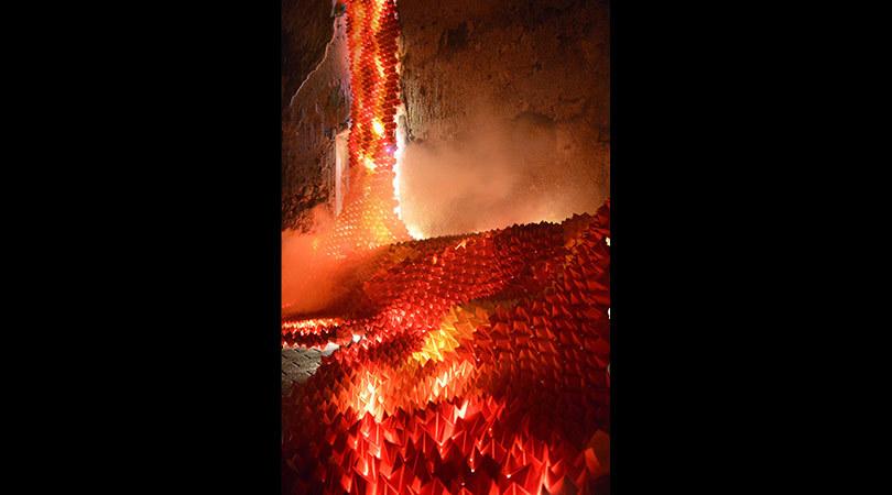 Origami lava | Premis FAD 2019 | Intervenciones Efímeras
