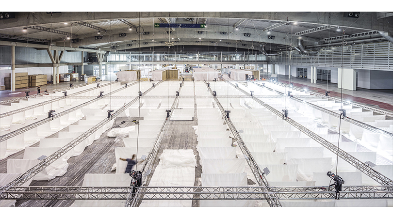 Espacios comunes barcelona building construmat | Premis FAD 2020 | Intervencions Efímeres