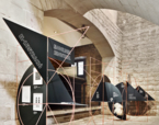 Sistema expositiu al Museu Marítim | Premis FAD 2015 | Intervencions Efímeres