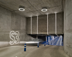 Estelas de Movimiento. Parking Sede BBVA, La Vela, Madrid | Premis FAD 2018 | Interior design