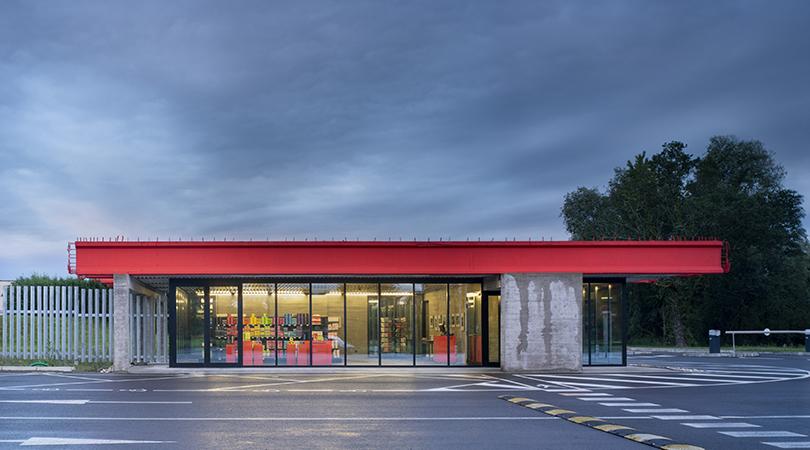 Entrance pavilion | Premis FAD 2019 | Arquitectura