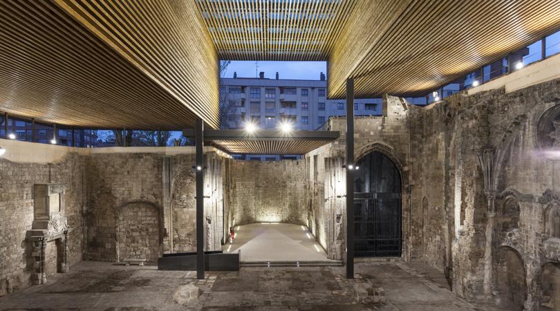 Cubierta monasterio de san juan | Premis FAD 2016 | Arquitectura