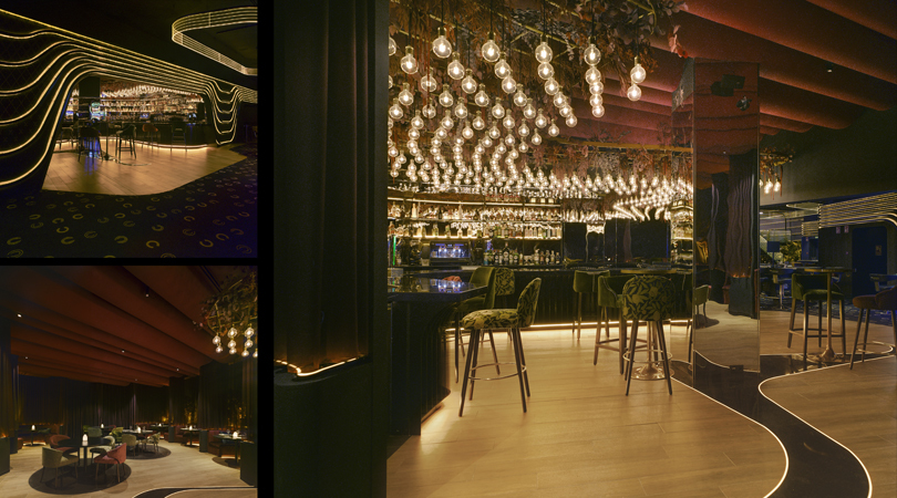 Interiorismo de hotel 5*, restaurantes y centro de ocio en badajoz | Premis FAD 2020 | Interiorisme