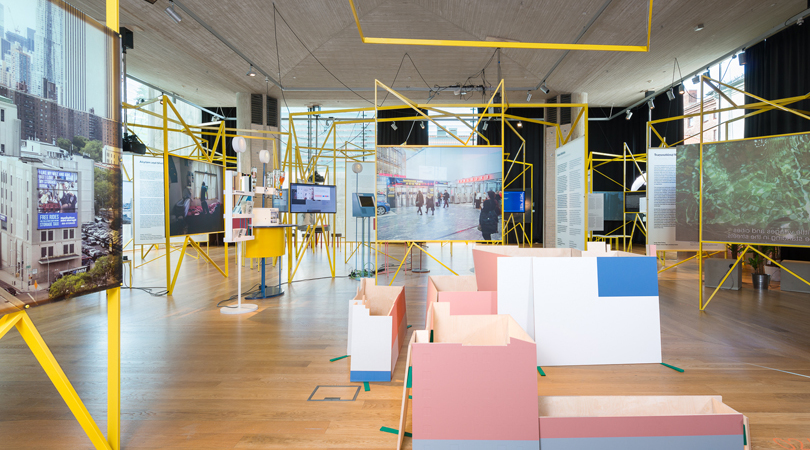 """oslo architecture triennale 2016. after belonging: a triennale in residence, on residence and the ways we stay in transit"": ""in residence"" exhibition/""on residence"" exhibition 