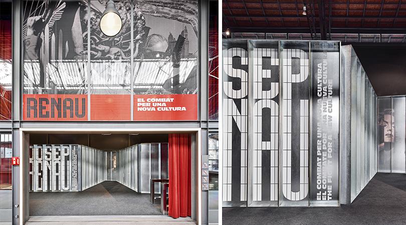 Josep renau el combat per una nova cultura | Premis FAD 2020 | Intervencions Efímeres