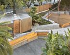 Pabellones de acceso Liceo Francés Barcelona | Premis FAD  | Ciutat i Paisatge