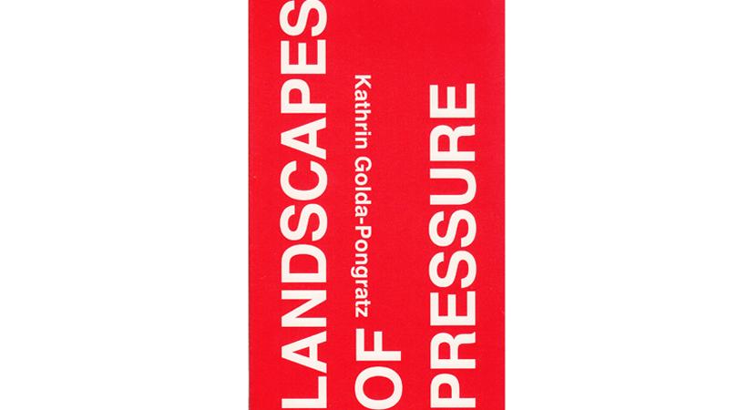 Landscapes of pressure | Premis FAD 2015 | Pensamiento y Crítica
