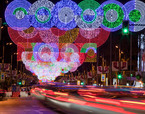 Christmas Lights at the Serrano Street | Premis FAD 2014 | Intervencions Efímeres