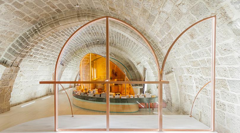 Acceso y tienda catedral de burgos | Premis FAD 2020 | Interiorismo