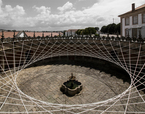 CARNET C10 - Instalação no Mosteiro da Serra do Pilar | Premis FAD  | Intervenciones Efímeras