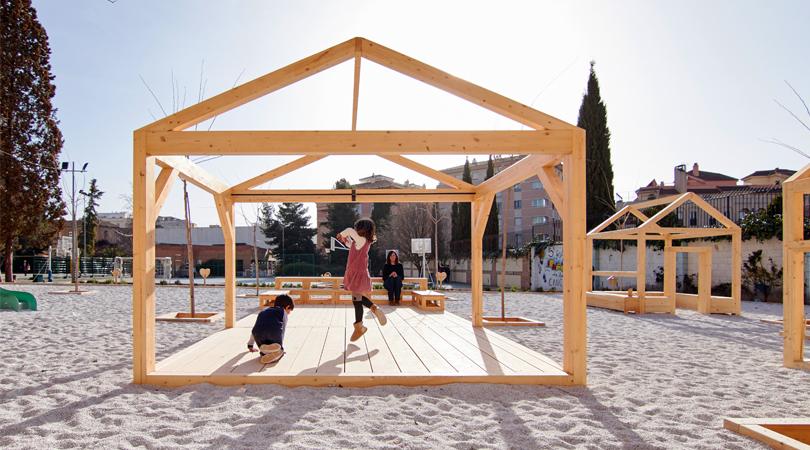 Patio educativo de juegos | Premis FAD 2020 | Ciutat i Paisatge