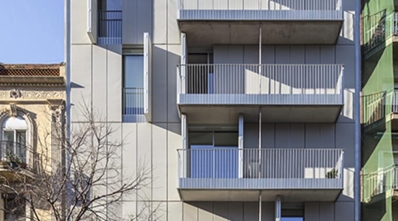 Edifici d'habitatges a barcelona | Premis FAD 2015 | Arquitectura