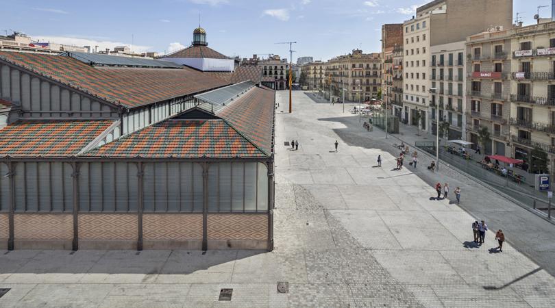Entorns mercat del born | Premis FAD 2014 | Ciudad y Paisaje