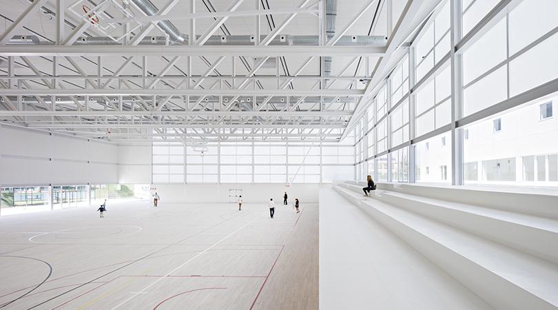 Polideportivo para la universidad francisco de vitoria | Premis FAD 2017 | Arquitectura